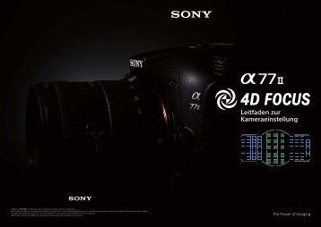 Sony ILCA-77M2M - ILCA-77M2M User's Guide Tedesco