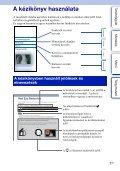 Sony NEX-F3D - NEX-F3D Istruzioni per l'uso Ungherese - Page 2