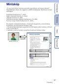 Sony NEX-F3D - NEX-F3D Istruzioni per l'uso Ungherese - Page 6