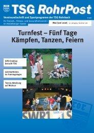 Mai/Jun. 2006 - TSG Heidelberg-Rohrbach