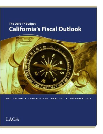 California's Fiscal Outlook