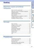 Sony DSC-TX1 - DSC-TX1 Istruzioni per l'uso Croato - Page 4