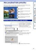 Sony DSC-TX1 - DSC-TX1 Istruzioni per l'uso Slovacco - Page 2