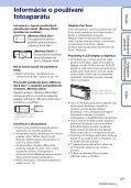 Sony DSC-TX1 - DSC-TX1 Istruzioni per l'uso Slovacco - Page 3