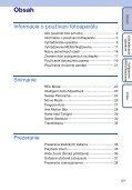 Sony DSC-TX1 - DSC-TX1 Istruzioni per l'uso Slovacco - Page 5