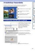 Sony DSC-TX1 - DSC-TX1 Istruzioni per l'uso Ungherese - Page 2