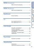 Sony DSC-TX1 - DSC-TX1 Istruzioni per l'uso Ungherese - Page 6