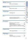 Sony DSC-TX1 - DSC-TX1 Istruzioni per l'uso Danese - Page 5