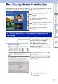 Sony DSC-TX1 - DSC-TX1 Istruzioni per l'uso Tedesco - Page 2