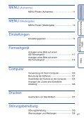Sony DSC-TX1 - DSC-TX1 Istruzioni per l'uso Tedesco - Page 6