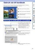 Sony DSC-TX1 - DSC-TX1 Istruzioni per l'uso Olandese - Page 2