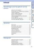 Sony DSC-TX1 - DSC-TX1 Istruzioni per l'uso Olandese - Page 4