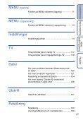 Sony DSC-TX1 - DSC-TX1 Istruzioni per l'uso Svedese - Page 6
