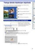 Sony DSC-TX1 - DSC-TX1 Istruzioni per l'uso Finlandese - Page 2