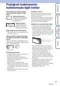 Sony DSC-TX1 - DSC-TX1 Istruzioni per l'uso Turco - Page 3