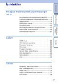 Sony DSC-TX1 - DSC-TX1 Istruzioni per l'uso Turco - Page 5