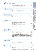 Sony DSC-TX1 - DSC-TX1 Istruzioni per l'uso Francese - Page 6