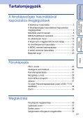 Sony DSC-T110 - DSC-T110 Istruzioni per l'uso Ungherese - Page 5