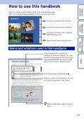 Sony DSC-T110 - DSC-T110 Istruzioni per l'uso Inglese - Page 2