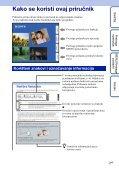 Sony DSC-T110 - DSC-T110 Istruzioni per l'uso Croato - Page 2