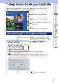 Sony DSC-T110 - DSC-T110 Istruzioni per l'uso Finlandese - Page 2