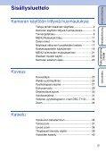 Sony DSC-T110 - DSC-T110 Istruzioni per l'uso Finlandese - Page 5