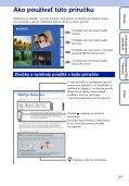 Sony DSC-T110 - DSC-T110 Istruzioni per l'uso Slovacco - Page 2