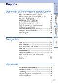 Sony DSC-T110 - DSC-T110 Istruzioni per l'uso Rumeno - Page 5