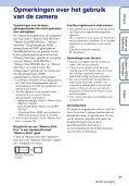 Sony DSC-T110 - DSC-T110 Istruzioni per l'uso Olandese - Page 3