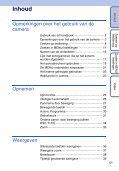 Sony DSC-T110 - DSC-T110 Istruzioni per l'uso Olandese - Page 5