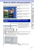 Sony DSC-T110 - DSC-T110 Istruzioni per l'uso Spagnolo - Page 2