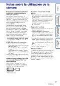 Sony DSC-T110 - DSC-T110 Istruzioni per l'uso Spagnolo - Page 3