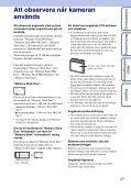 Sony DSC-S2000 - DSC-S2000 Istruzioni per l'uso Svedese - Page 3