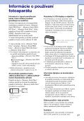 Sony DSC-S2000 - DSC-S2000 Istruzioni per l'uso Slovacco - Page 3