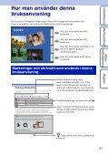 Sony DSC-S2000 - DSC-S2000 Istruzioni per l'uso Svedese - Page 2