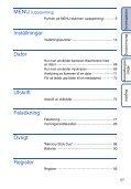 Sony DSC-S2000 - DSC-S2000 Istruzioni per l'uso Svedese - Page 5