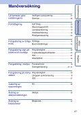 Sony DSC-S2000 - DSC-S2000 Istruzioni per l'uso Svedese - Page 6