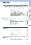 Sony DSC-S2000 - DSC-S2000 Istruzioni per l'uso Rumeno - Page 5