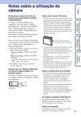 Sony DSC-S2000 - DSC-S2000 Istruzioni per l'uso Portoghese - Page 3