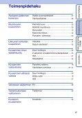 Sony DSC-S2000 - DSC-S2000 Istruzioni per l'uso Finlandese - Page 6