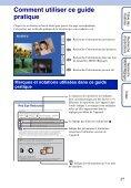 Sony DSC-S2000 - DSC-S2000 Istruzioni per l'uso Francese - Page 2