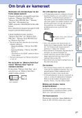 Sony DSC-S2000 - DSC-S2000 Istruzioni per l'uso Norvegese - Page 3