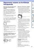 Sony DSC-S2000 - DSC-S2000 Istruzioni per l'uso Croato - Page 3