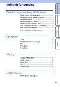 Sony DSC-S2000 - DSC-S2000 Istruzioni per l'uso Danese - Page 4