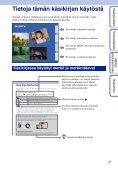 Sony DSC-S2000 - DSC-S2000 Istruzioni per l'uso Finlandese - Page 2