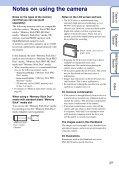 Sony DSC-S2000 - DSC-S2000 Istruzioni per l'uso Inglese - Page 3