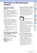 Sony DSC-S2000 - DSC-S2000 Istruzioni per l'uso Tedesco - Page 3