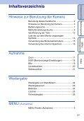 Sony DSC-S2000 - DSC-S2000 Istruzioni per l'uso Tedesco - Page 5
