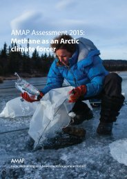 AMAP Assessment 2015 Methane as an Arctic climate forcer