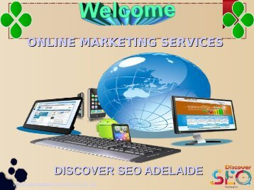 Online marketing Services Discover SEO Adelaide
